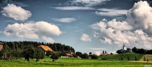 Rural Landscape On The Way To The ... by LeWelsch