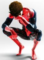 The Depressed Spiderman by Kyrosys