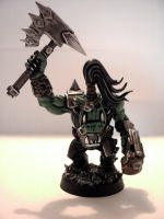 40K- Ork Nob no. 1 by z95pilot