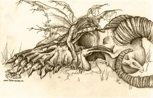 Death of the Fae King by AphoticBlight