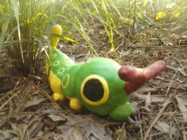 Clay Caterpie by Crowbariswin