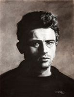 James Dean by Fruksion
