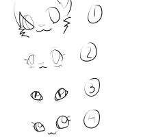 eye practice by KaraKittyCat