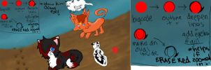 iscribble art and tutorial by Kimi-Celine