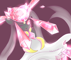 Mega Diancie by pyropete03