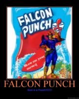FALCON PUNCH XD by SSGotenks650