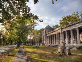 Fiume Road National Graveyard in Budapest by rembo78