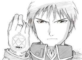 FMA: Roy Mustang by drink-milk87