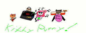 the kitty purry band by kitkat567