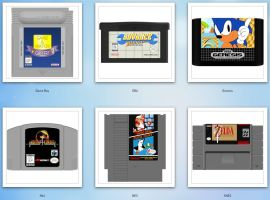 Classic Game Carts by NoSmokingBandit
