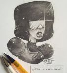 Garnet Sketch by TheLittleArtyThing