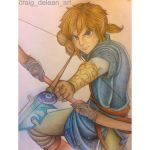 Ponytail Link: wii u by Mimibert