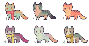 [ SOLD ] Tinyfeet Adopts 13 by Sergle