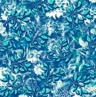 Retro Awesome Floral Swirls 27 by DonnaMarie113