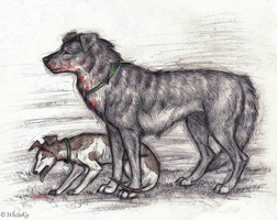 The Plague Dogs by WhiteK9