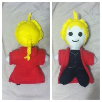 Edward Elric FMA Chibi Plush by chkimbrough