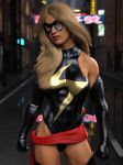 Ms Marvel ready to rumble by DahriAlGhul