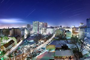 Belgrade winter nights by BorisMrdja