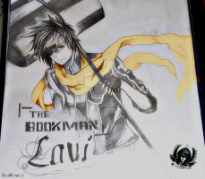 Lavi, the bookman by EienSketcher