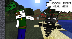 Harvey sucks at minecraft 4 withers by Cjrocker