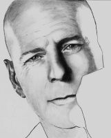 Bruce Willis - scan 2 by Doctor-Pencil