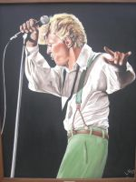 David Bowie by LeoHurenkamp