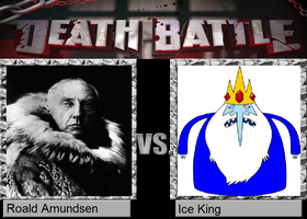Death Battle - Roald Amundsen vs. Ice King by MatthewJabezNazarioI