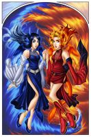Sisters of Water and Fire by Reyn-Celandine