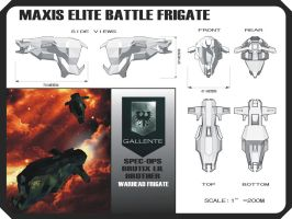 Gallente SPEC-OPS Frigate by Zorathust1