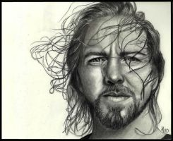 Eddie Vedder by missperple