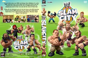 WWE Slam City DVD Cover by Chirantha