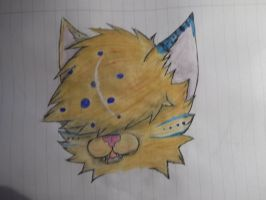 Water Color Cat by Keademia