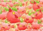 Like Flying Strawberries by greggileano
