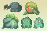 Bulba Sketches by Lachtaube
