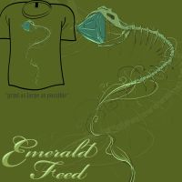 Woot Shirt - Emerald Feed by fablefire