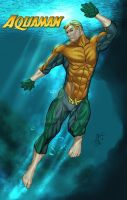 Aquaman costume redesign by spidey0318