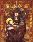 :: Madonna and Child :: by ninebreaker