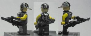 LEGO Aliens Space Marine Smart Gunner by ARMORMAN
