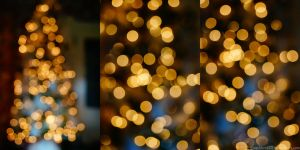 Christmas Tree Bokeh Package by SnapShot120