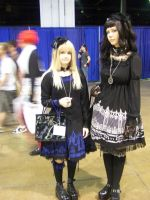 Gothic Lolita Cosplayers by GenericYaoifan5002