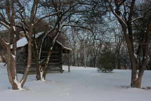 Snowy Cabin 5 by sd-stock