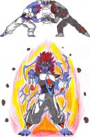 Henlong And Nightmare Fusion by DBZ2010