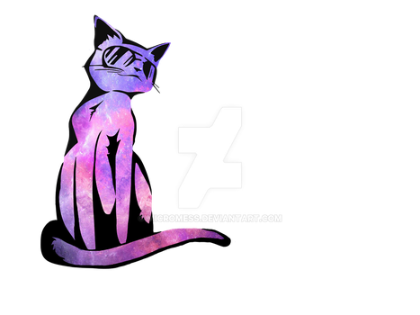 Cool cat galaxy by micromess