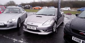 Toyota Celica - Fast Show 2013 by K4T3Photography