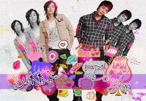 Sukkie and Donghae by Isaakarichan