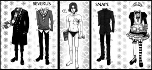 Dress the Potions Master by snapefanclub