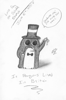 If Penguins Lived In Britain by Mysterious-Master-X