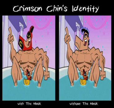 Crimson Chin's Identity by Cookie-Lovey