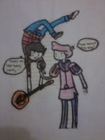 Marshall Lee and Price Gumball's Jam ses. by machee15