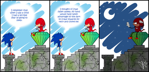 fun with knux by LaDenny